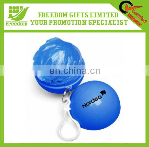 Promotional Logo Branded Disposable Raincoat
