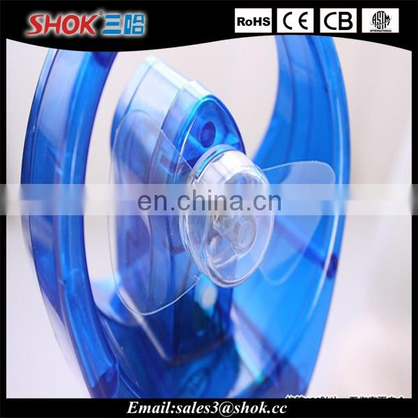 Factory wholesale plastic cooling fans handheld water mist fan