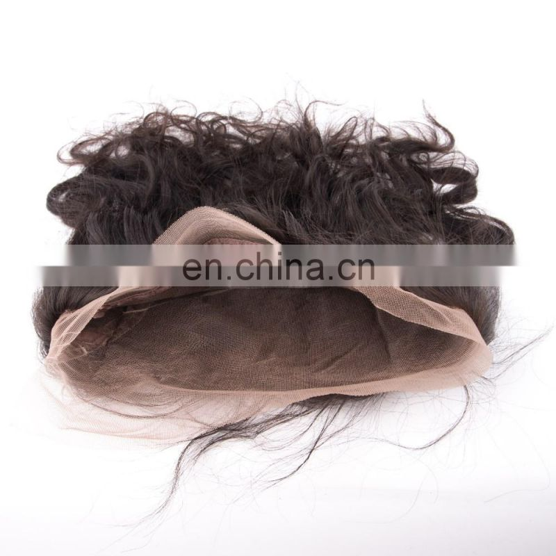New arrival high quality human hair silk base 360 lace frontal