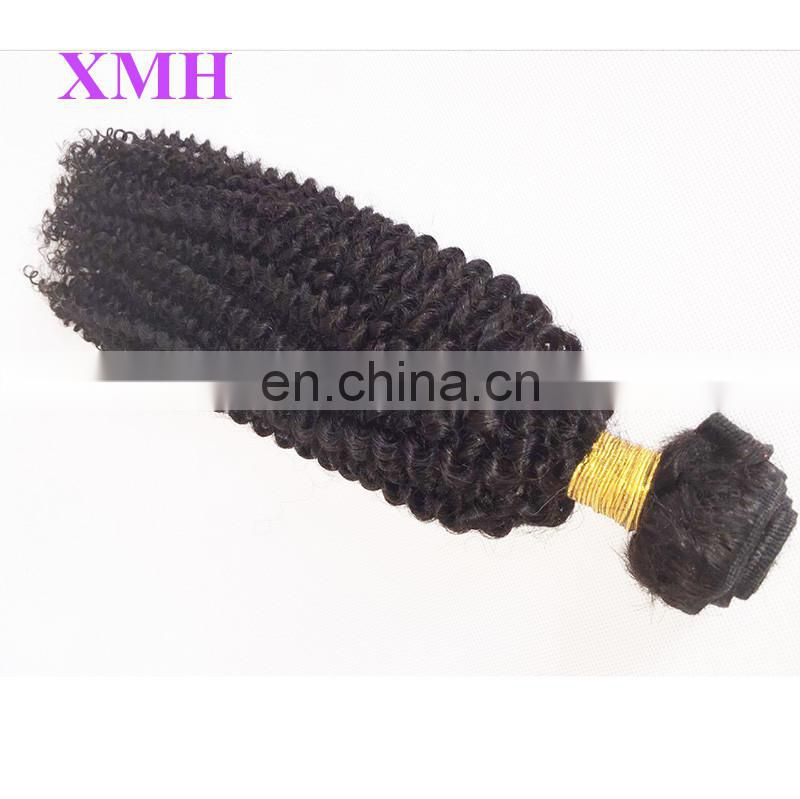 100% Unprocessed Wholesale Brazilian 3 Bundles Virgin Curly Human Hair