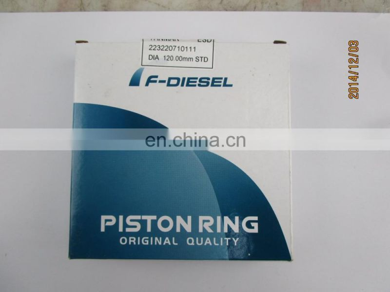 Factory Direct Sale Stock Piston Ring for ESD diesel engine