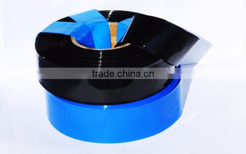 PVC heat shrinkable tube battery thermal shrinkage film shrink sleeve