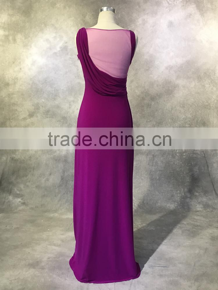 High end china factory direct wholesale sexy sweetheart backless evening gowns for teenagers