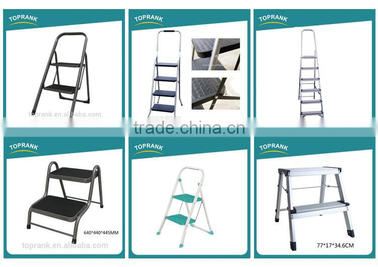 Hot sale safety insulated 3 step folding stainless steel ladder prices