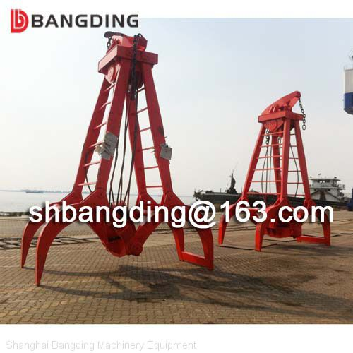 clamshell timber handling grab bucket for wood of grab from