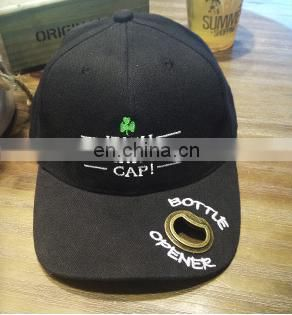 Advanced cotton caps bottle opener individuality baseball cap