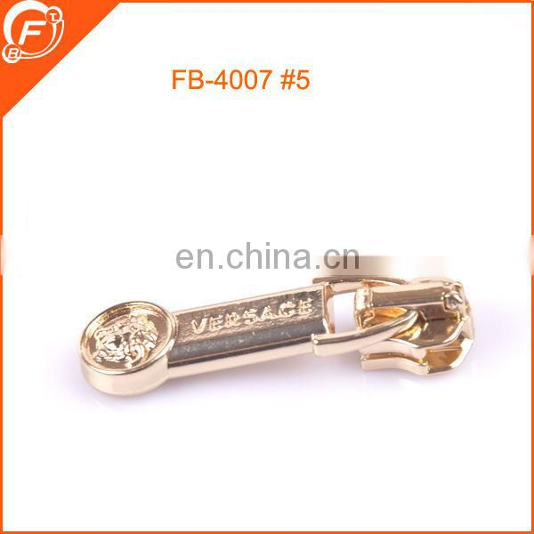OEM china wholesale fantastic 5# brass zipper slider for garments
