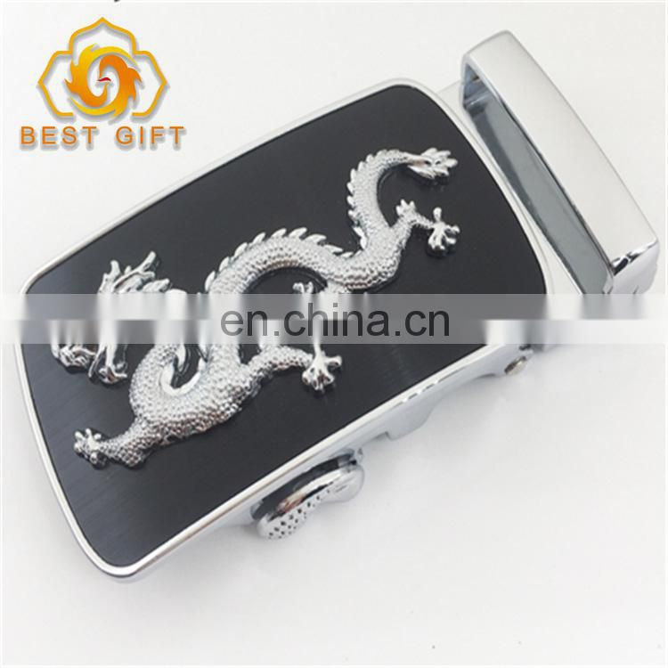 Best Seller Newest Design Cool Black Zinc Alloy Belt Buckle