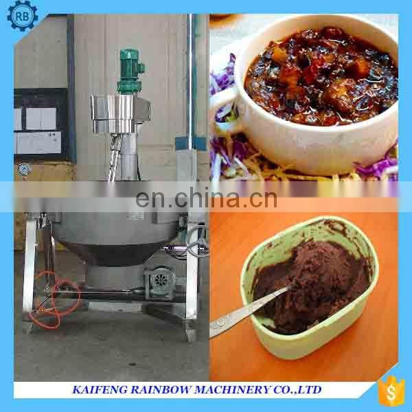 stainless steel good taste fruit jam making machine fruit jam/paste /sauce boiling kettle