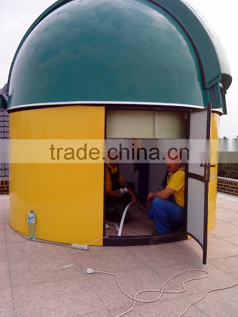 Observatory dome 2.2m - electric version - worldwide door delivery - Uniwersal Instruments