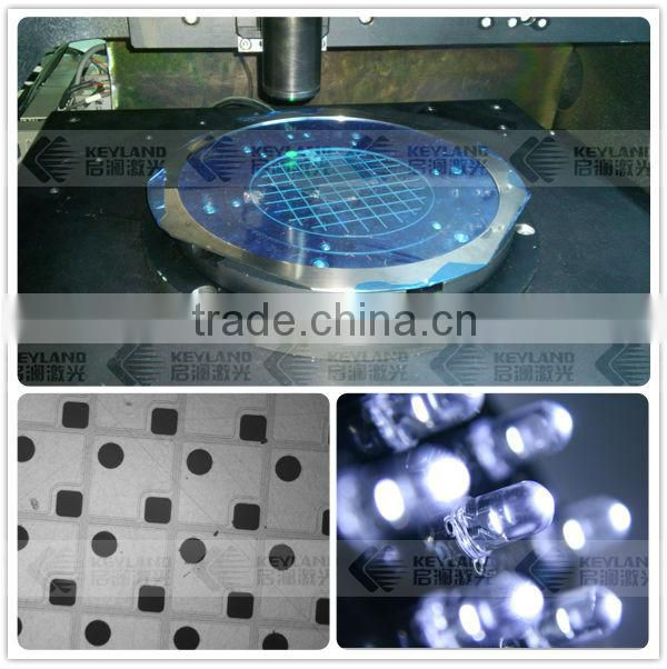 High Precision LED Wafer UV Laser Scribing Machine For Sale
