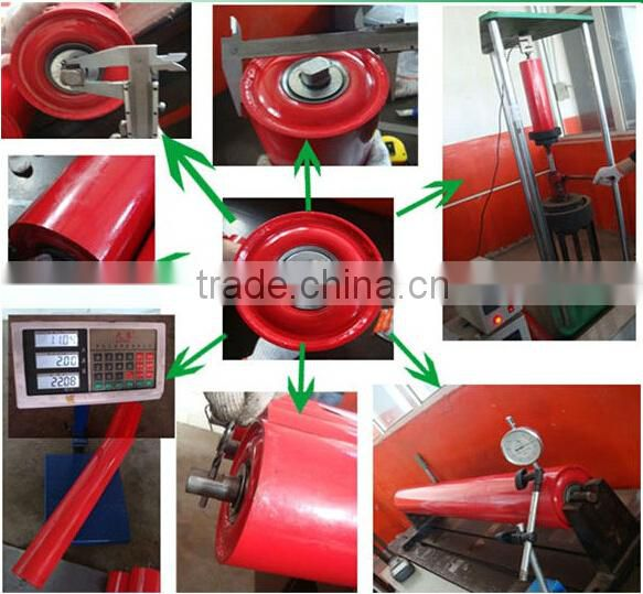 Idler Products Manufacturer Industrial Steel Pipe Conveyor Belt Roller For Transfering Coal