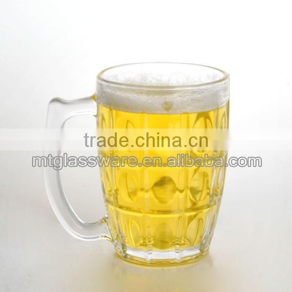 Machine made cheap beer glass,glass cup