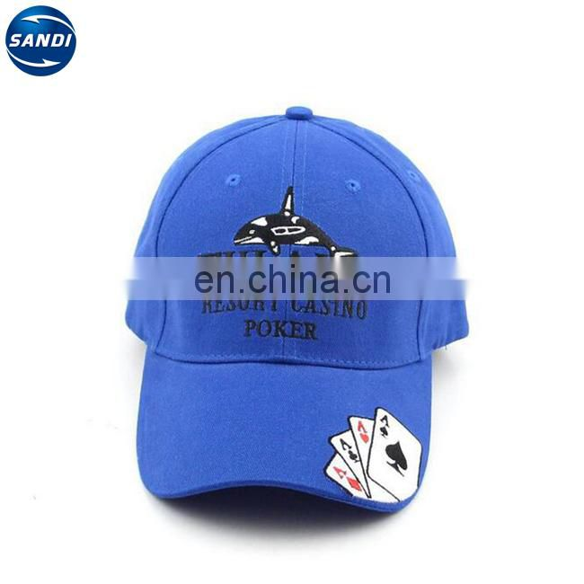Custom embroidery 6 panel sports golf cap with LOGO