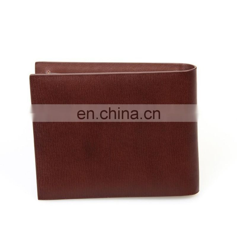 Luxury High Quality Unique Design Handmade Durable Man Leather Wallet