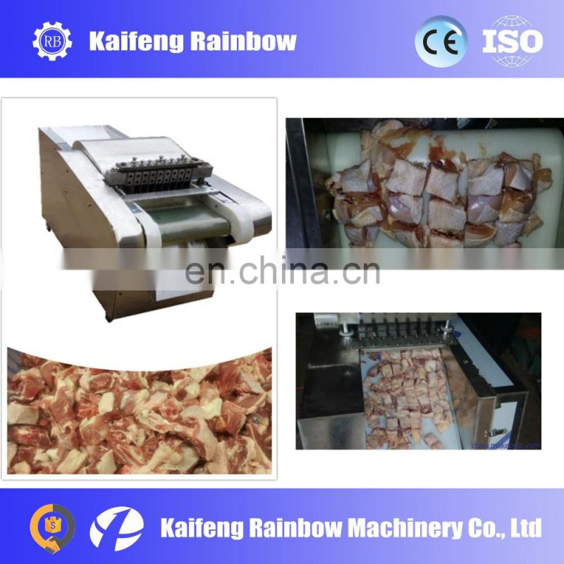 Industrial Made in China chicken meat cube cutting machine / Fresh Meat Cube Dicer Machine