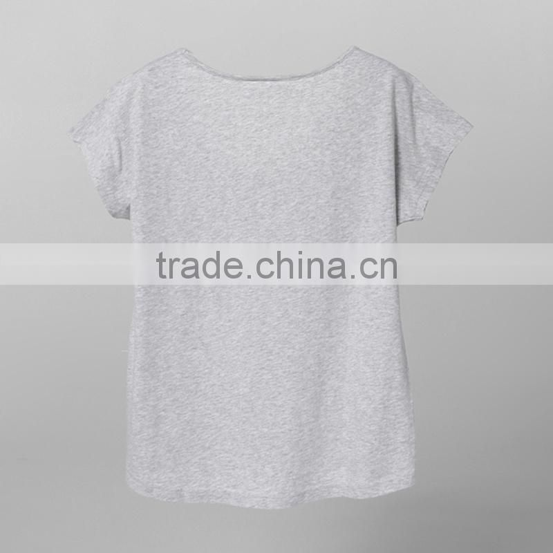 Philippine cheap tshirt china factory price ladies tshirt