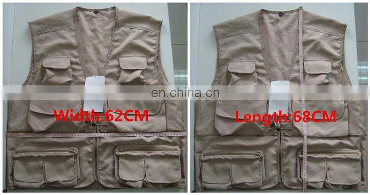 Safety Equipment Summer Dresses Safety Product Wholesale Clothing Camo Fishing Shooting Vest