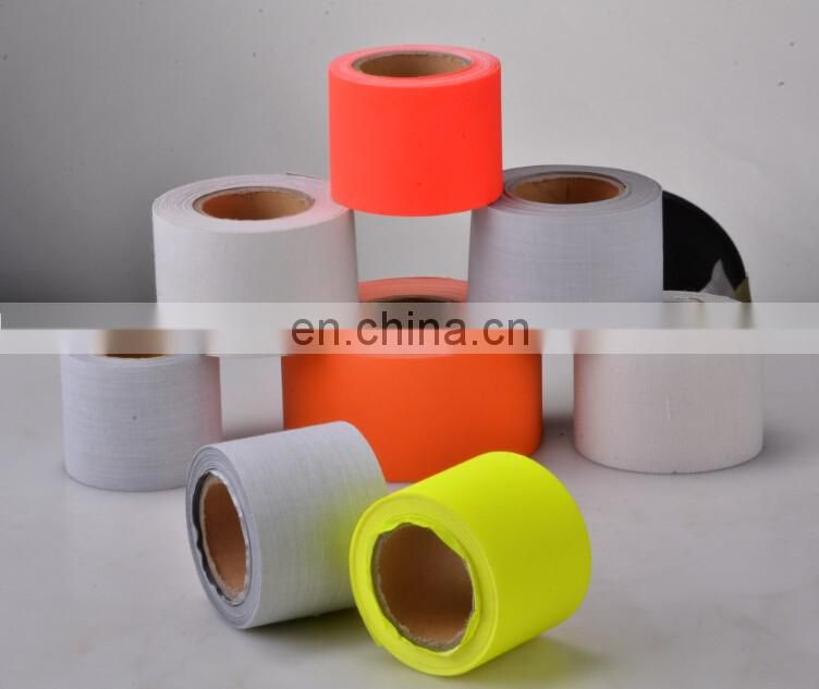 High Visibility Silver Polyester Reflective Clear Material Fabric Tape
