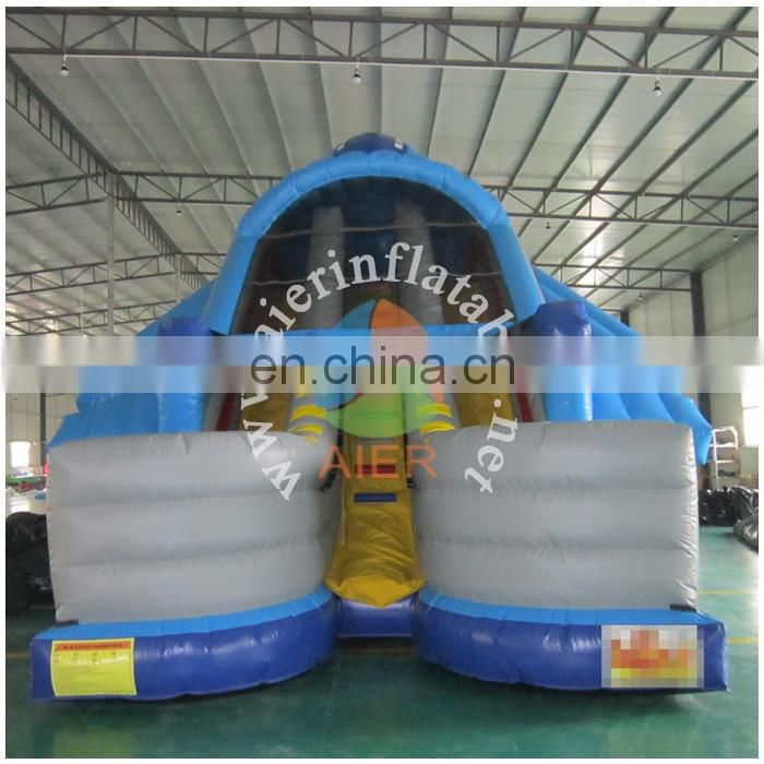 2017 Aier Outdoor inflatable water slides for kids/inflatable slide for pool/cheap inflatable slide