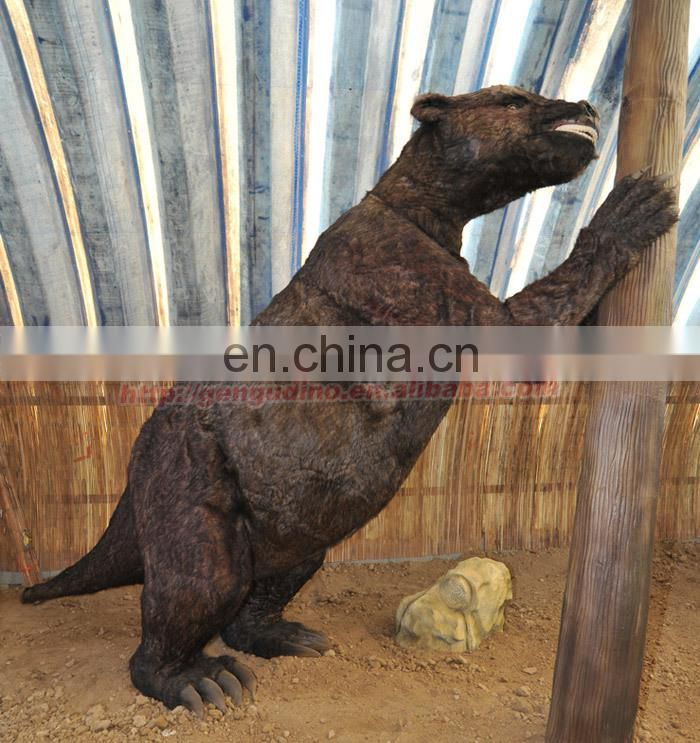 Resin steel statues animals wild bear