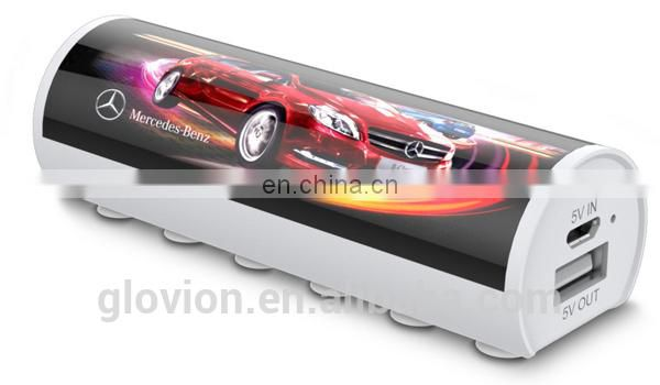 New design power bank for logo print for promotional gift