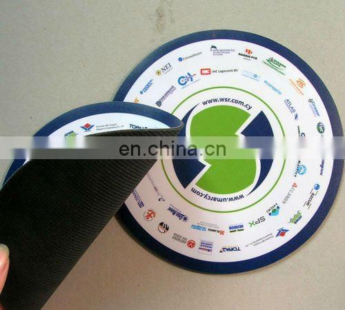 Promotional full printing mouse pad pvc