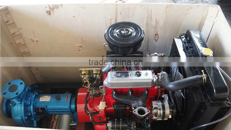 25 hp end suction diesel water pump