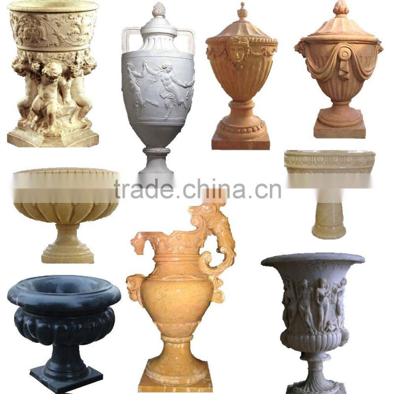 Hot sale handmade home decor modern simple bronze vase NTBF-FL016L
