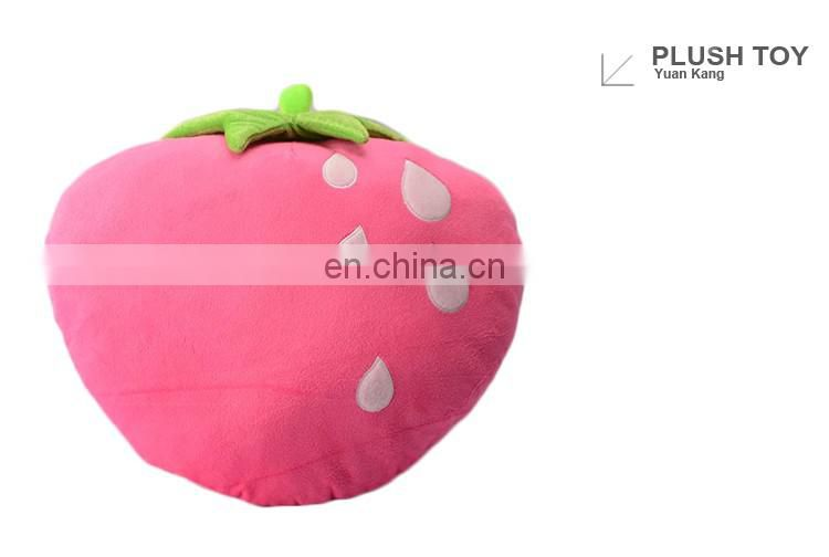 ICTI factory custom stuffed fruit toys strawberry plush