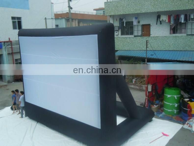 Best-selling PVC large inflatable movie screen