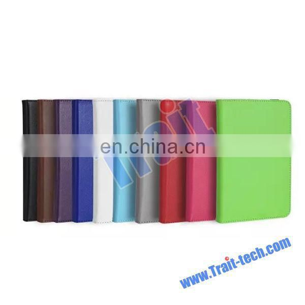 New Hot Sales Card Slots Stand PC + PU Leather Case for Unicersal 7'' Tablet PC With Elastic Belt