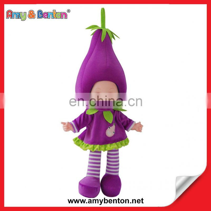 Most Popular Plush Fashion Vegetables Fruit Kid Doll