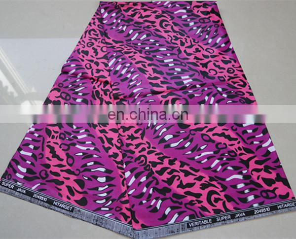 2015 new design african clothing JAVA real wax fabric hitarget