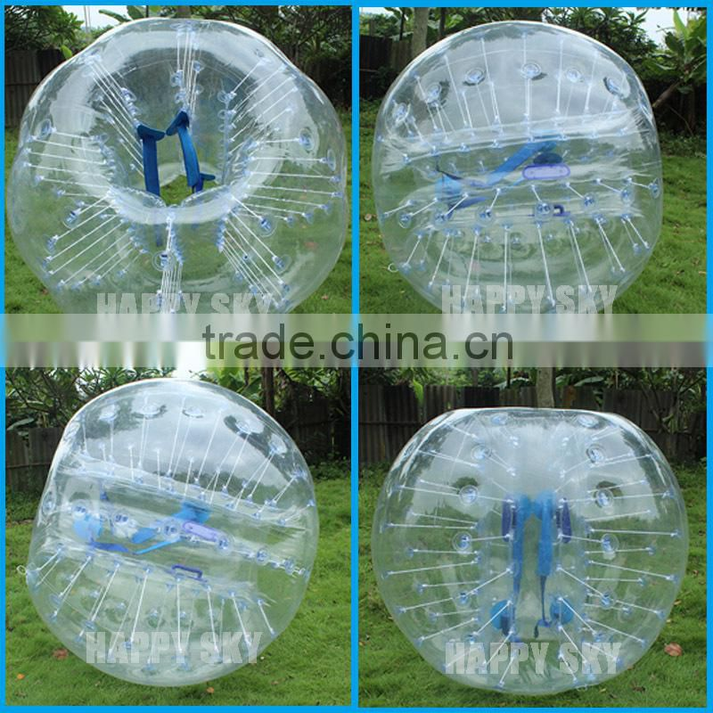 PVC or TPU Dia1.2m/ Dia1.5m/ Dia1.7m inflatable bumper ball,knocker ball for sale,outdoor Loopyball for kids and adults