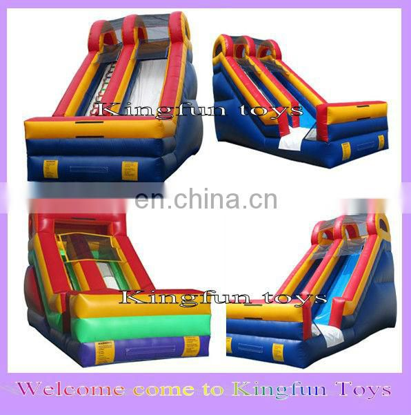 Grimace kids inflatable obstacle tunnel games