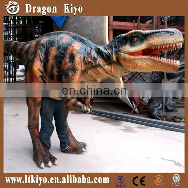 new innovative product 2016 life size dinosaur costume for game