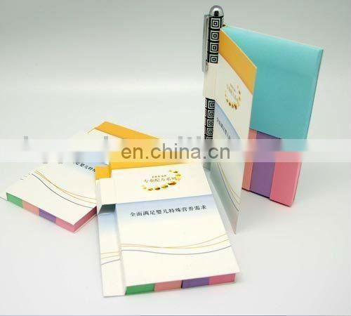 funky sticky note pads with pen holder