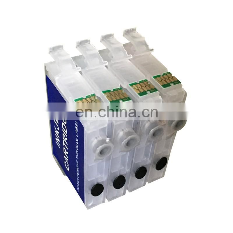 High profit margin products T2971 T2962 T2963 T2964 refillable cartridge for epson xp231 with auto reset chips