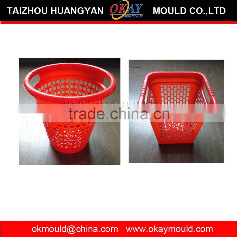 Hot -sale Professional Household Mould Maker Plastic Injection Molding Basket Mould Factory