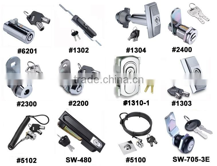 die casting plane Industrial Cabinet Locks plane push button lock of