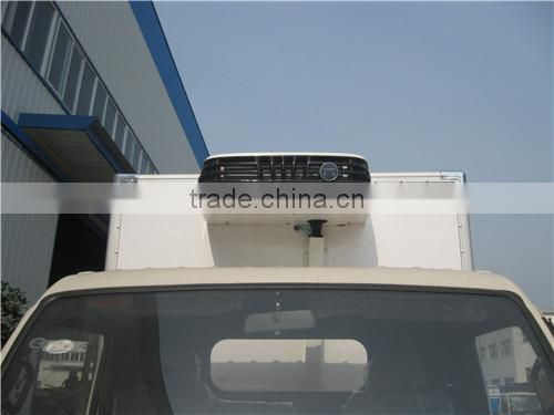 2-3 t ice car delivery, refrigerated cold room van truck,refrigerated small trucks