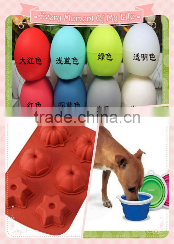 FDA& LFGB Portable Collapsible Silicone Pet Bowl,Eco-friendly Silicone Suction Bowl