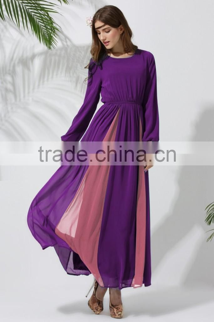 Hot sales the Middle East summer women muslim long dress