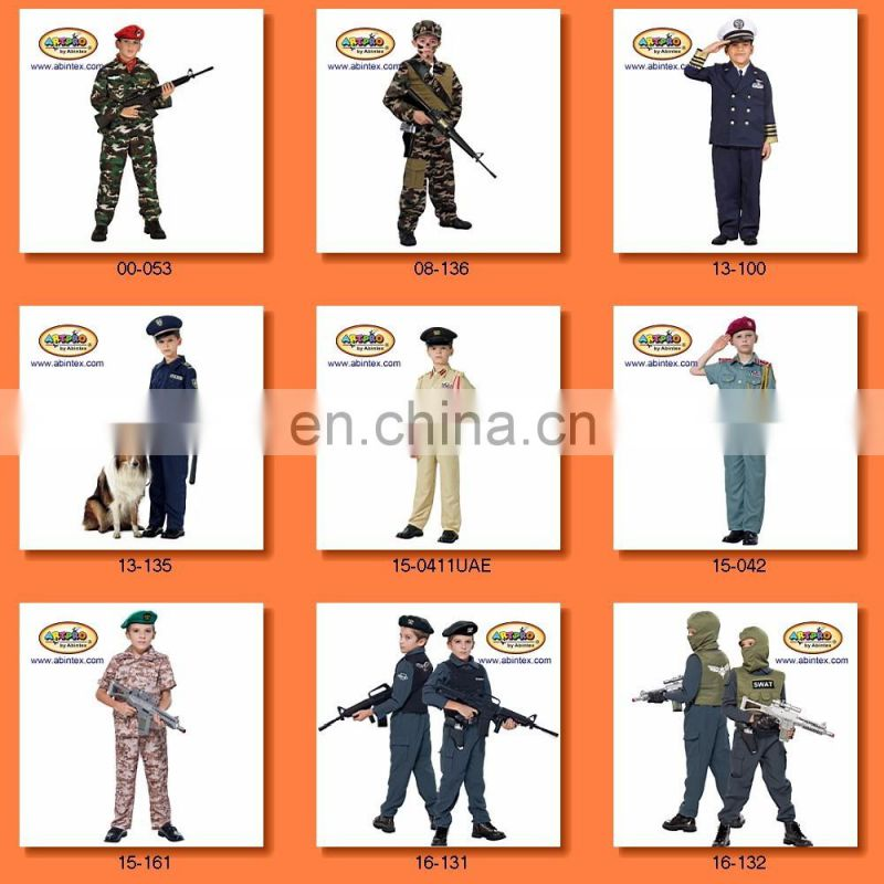 Sea force General (pilot) Costume(13-100) as boy costume with ARTPRO brand