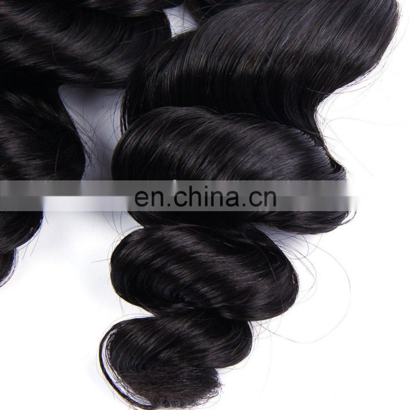 Top quality good 100% raw virgin unprocessed human hair peruvian hair