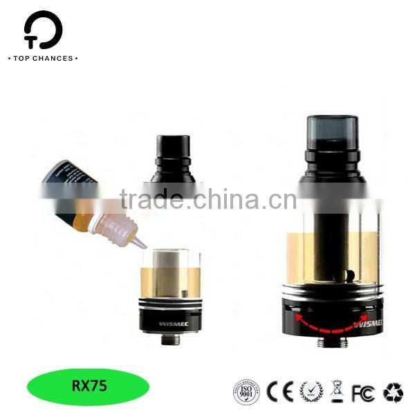 Wholesale alibaba New Products Wismec Reuleaux rx75 kit wholesale original Reuleaux rx75 wholesale alibaba