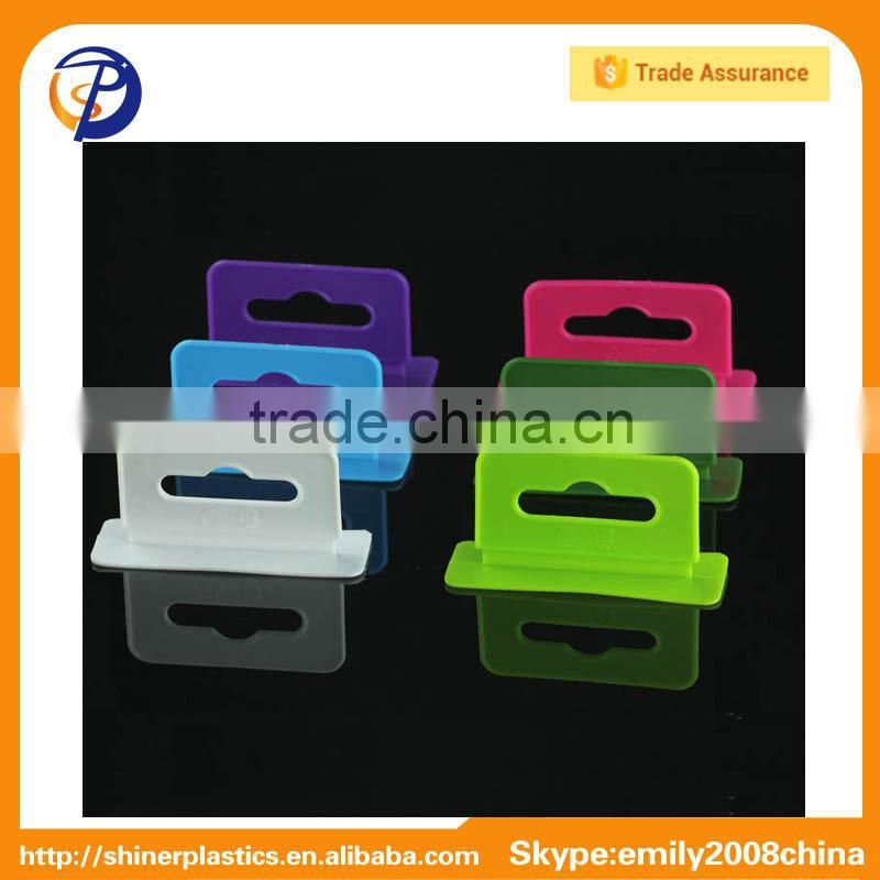 Customized Plastic Display Hanging Tabs