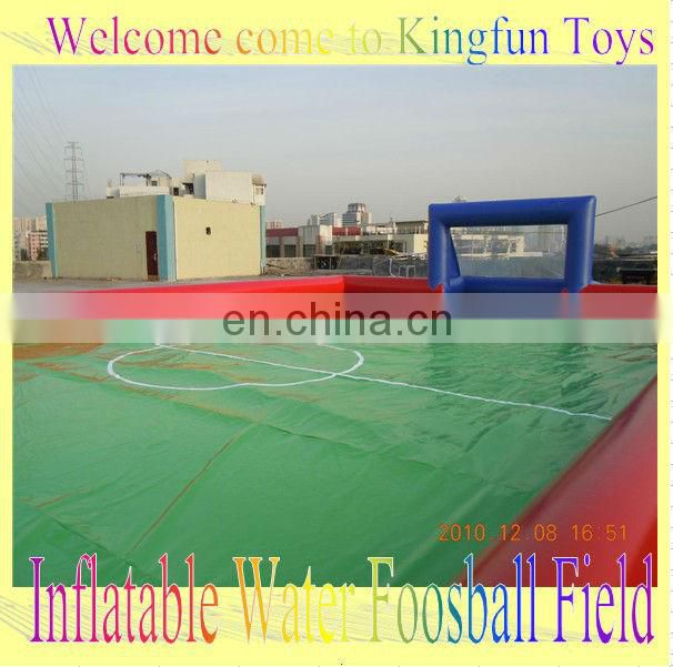 10people inflatable soccer pitch game