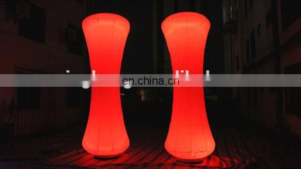 color changing LED inflatable cone